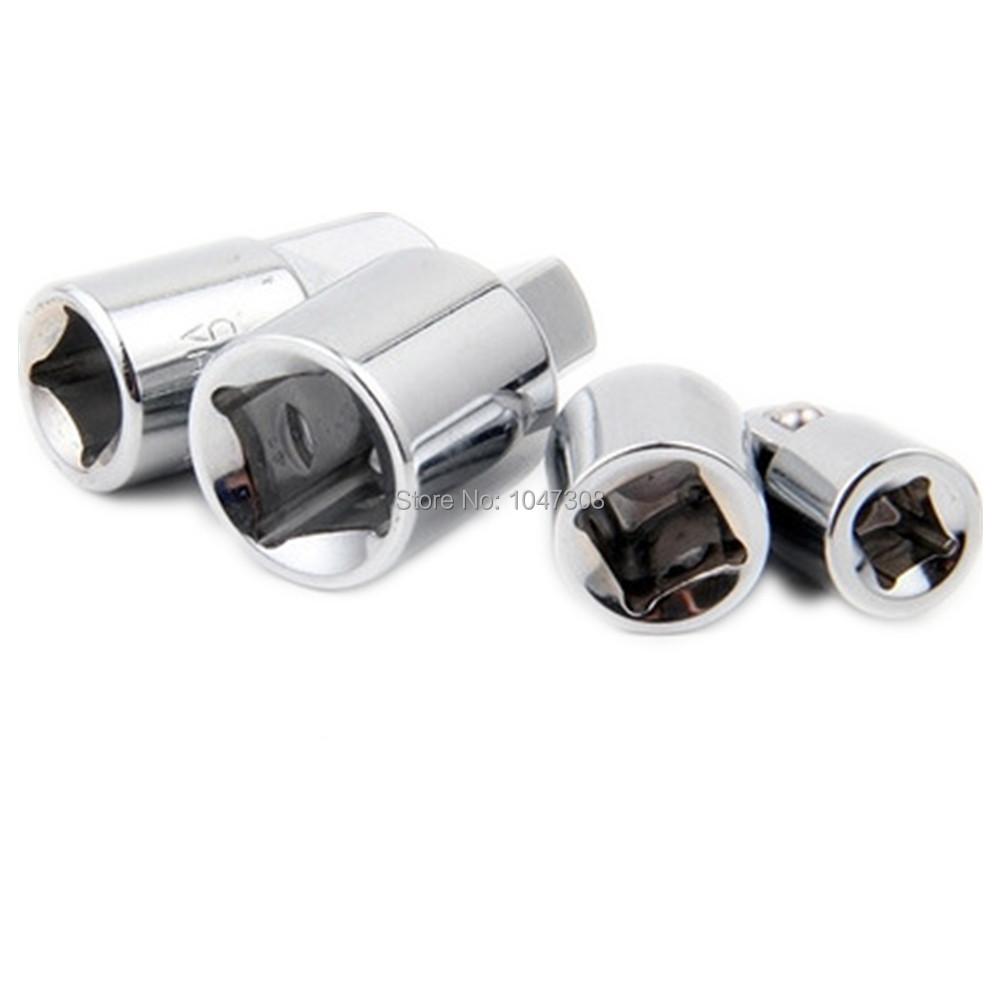 """Hot 4pcs 1/4""""3/8"""" 1/2 Inch Drive Socket Adapter Converter Reducer Air Impact Craftsman Socket Wrench Adapter Hand Tools Set New(China (Mainland))"""