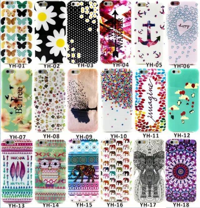 New Designs Beautiful Flowers Owl Elephant Aztec Colorful Unique Cases for font b iPhone6 b font