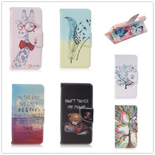 Funda Sony Xperia M5 Case pu Leather Wallet Flip Stand Cover E5603 E5633 Cases internal printing - S Mobile phone accessories shop store