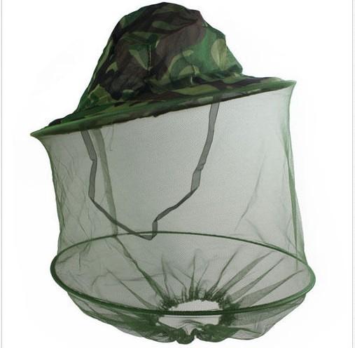 Высокое качество камуфляж комаров Fly насекомых би рыбалка маска для лица защита ...