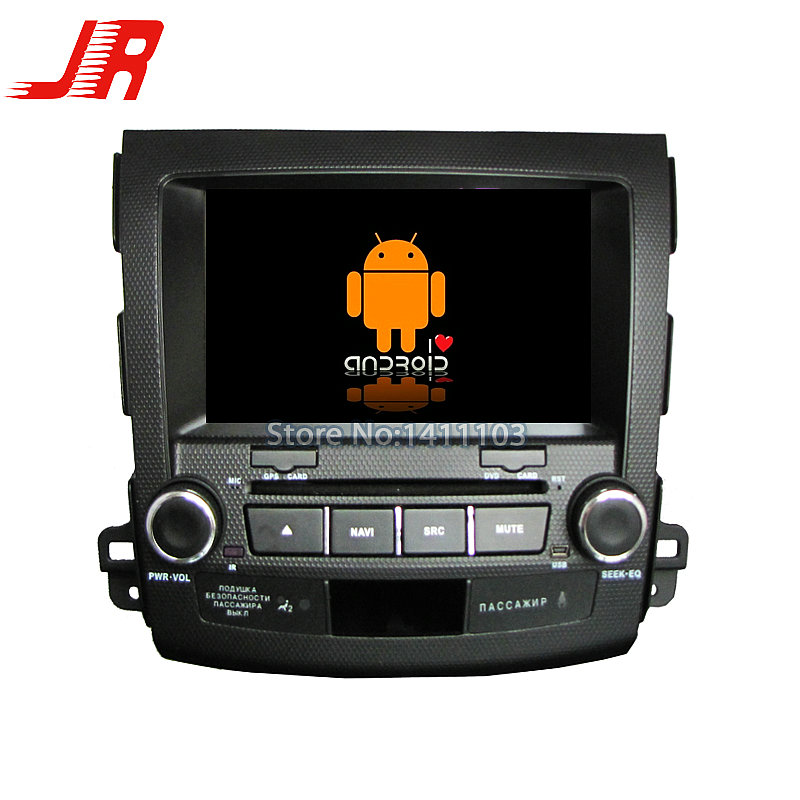 Quad Core Android 4.4 Car DVD  player FOR Mitsubishi OUTLANDER 2006-2012 Quad Core A9 1.6GHz car audio car multimedia car stereo<br><br>Aliexpress
