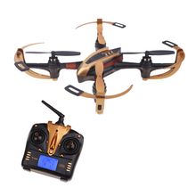 Yizhan Golden X4 4CH 2.4G 6 Axis remote control helicopter Toys UFO 3D Flying Dron Transmitter with LCD Display Quadrocopter(China (Mainland))
