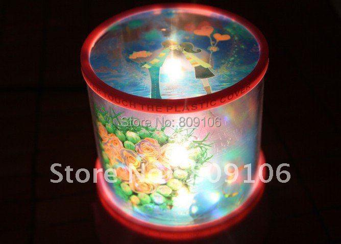 Wholesale ,Free shipping, Festival Gift/Bicycle lover Star Projector Lamp lover Star Projector star lamp night light(China (Mainland))