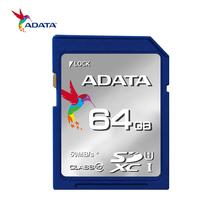 64GB 32GB 16GB Memory Card Original ADATA Permier SDXC SDHC C10 SD Card Flash Cards High Speed For Digital Camera(China (Mainland))