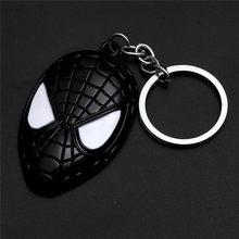 The Avengers Capitão América Escudo Brinquedo Homem De Ferro Marvel Superhero Hulk Spiderman Batman Keychain jóias Pingente de Metal Chaveiros(China)