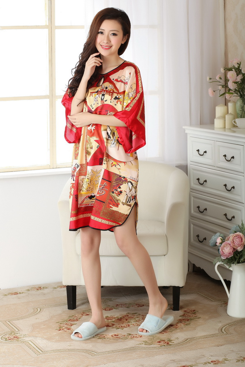 Tang Chinese fashion elements were painting cheongsam dress robes personal comfort Traditional Chinese culture embroidery(China (Mainland))