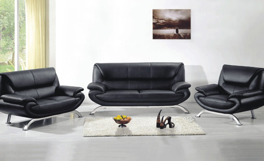 Free shipping leather furniture new genuine leather modern - Sofas piel moderno ...