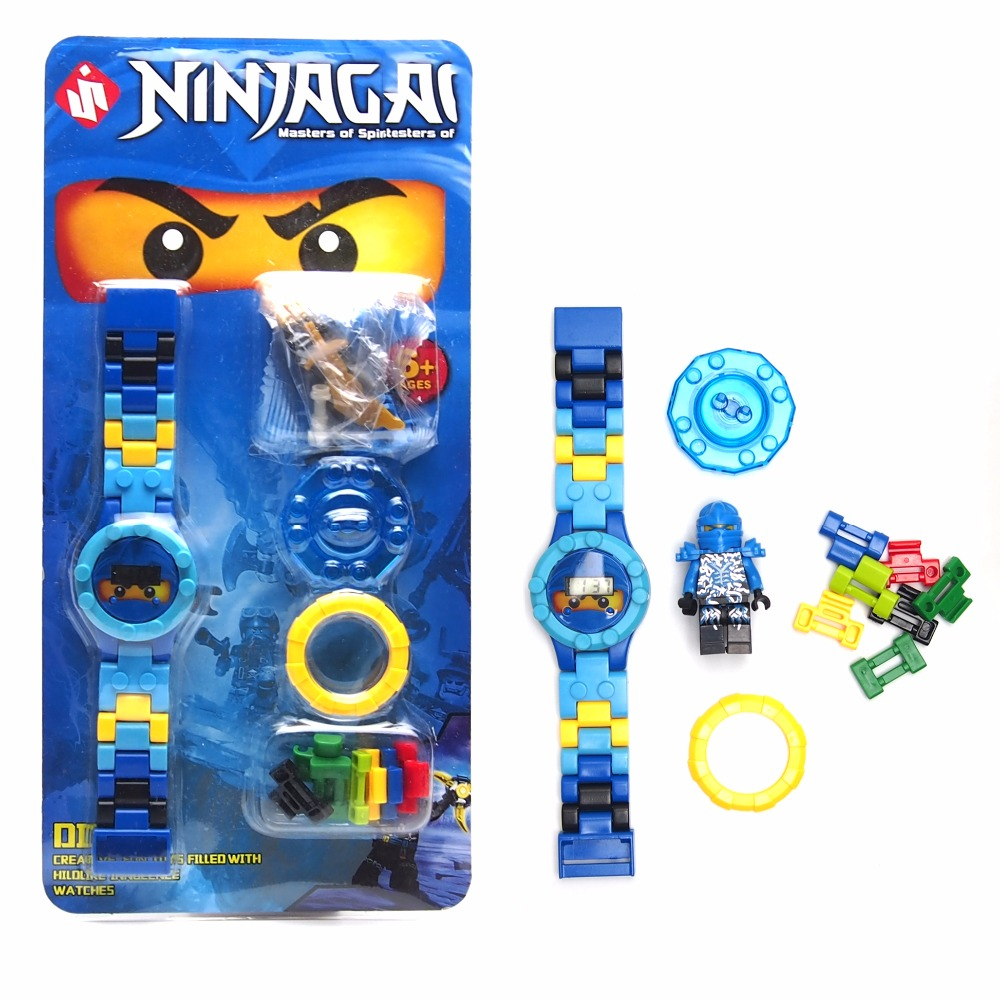 NINJAGOE minifigures Super hero ninjago mini Building blocks Original box Watch Bricks Compatible legoe Toys for children gift(China (Mainland))