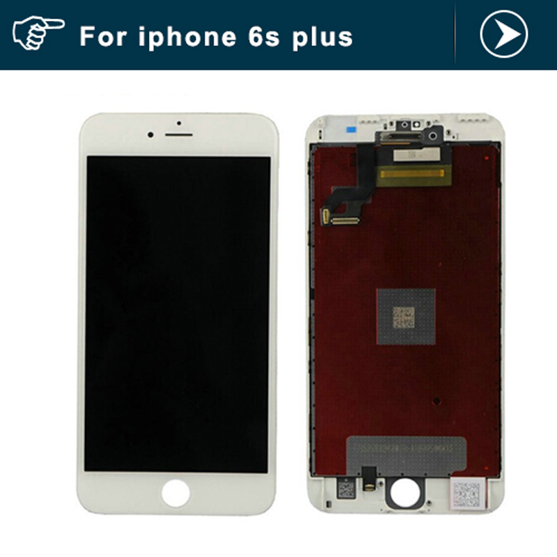 For iPhone 6S Plus LCD Screen Display With Touch Screen Digitizer Assembly White or Black