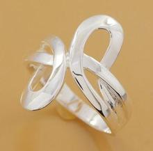 R206 Wholesale Silver plated ring, silver fashion jewelry, fashion ring(China (Mainland))