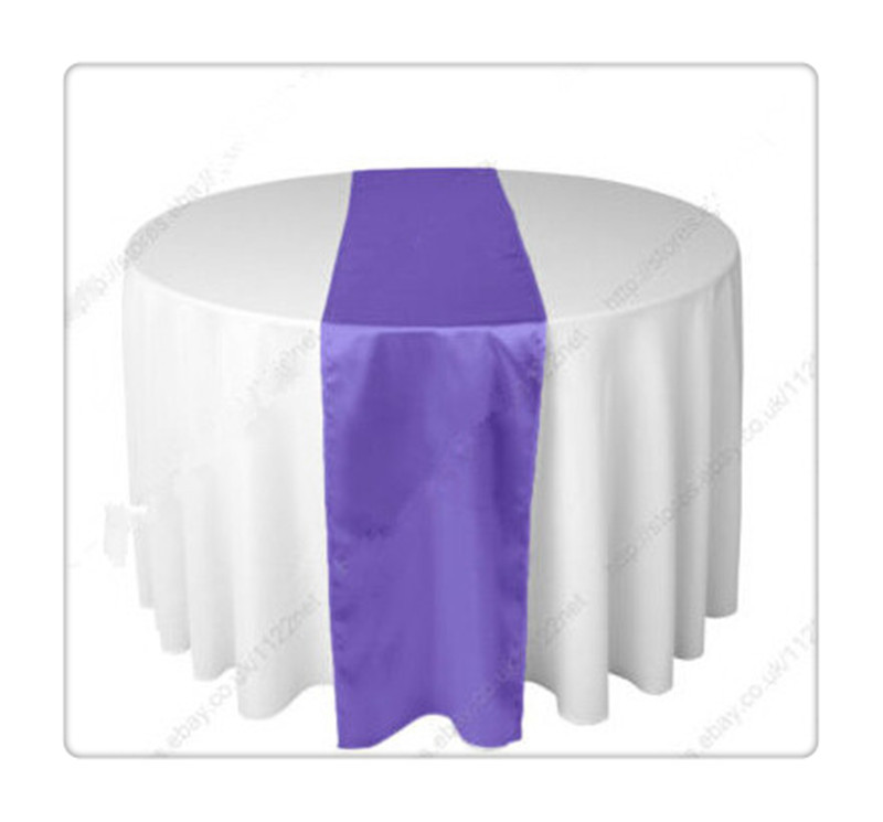 36 piece gadbury purple table runners For Wedding FREE SHIPPING chemin de table argent(China (Mainland))