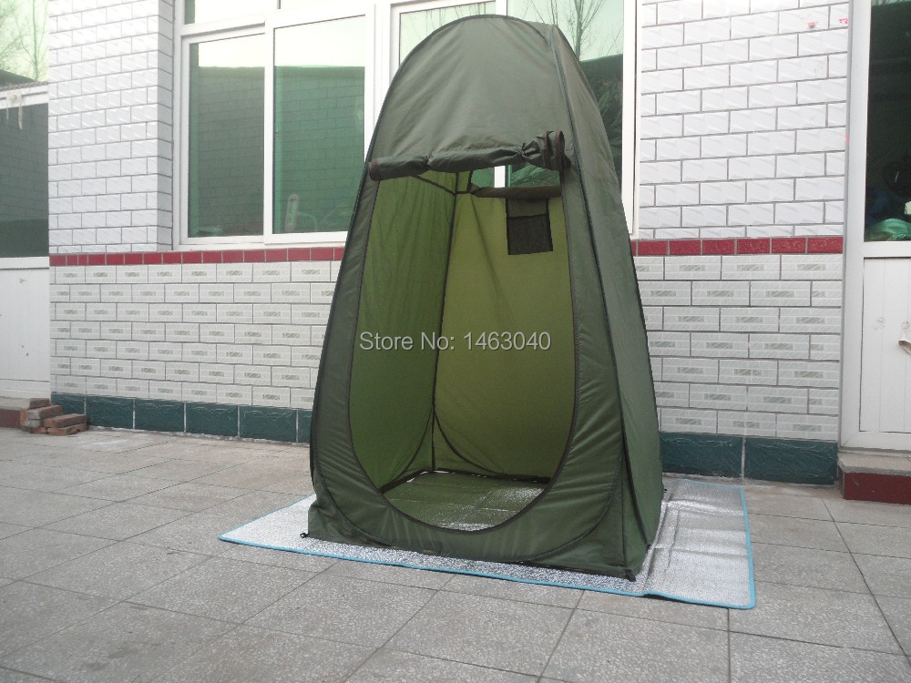 Portable Individual Shelters : Portable shelter camping shower tent lot single hide