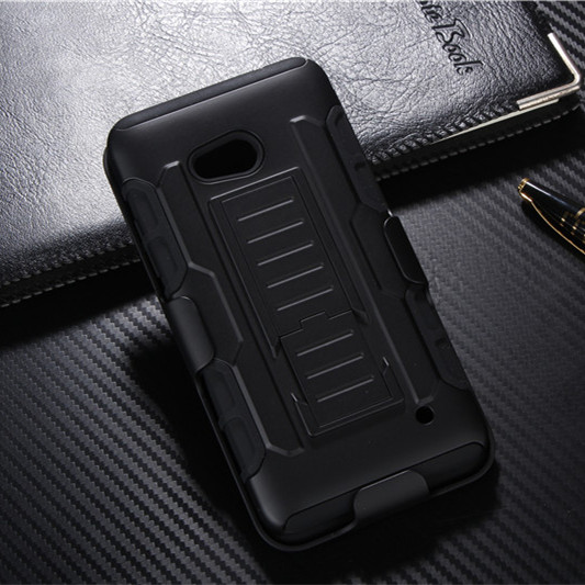 N640 Touch Shock Proof Impact Rugged Hybrid Case For Microsoft Nokia Lumia 640 Kickstand Belt Clip Armor Phone Back Cover(China (Mainland))