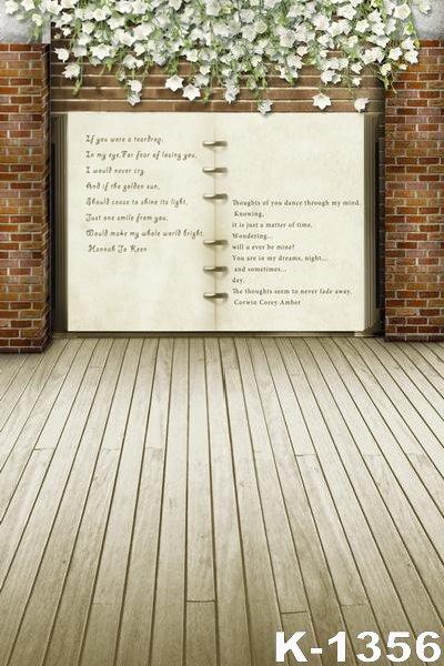 Simple Design Vinyl Backgrounds 5*7ft Backdrops Photography Wood Floor Studio Backdrops For Photo Props Digital Fundo Backdrop(China (Mainland))