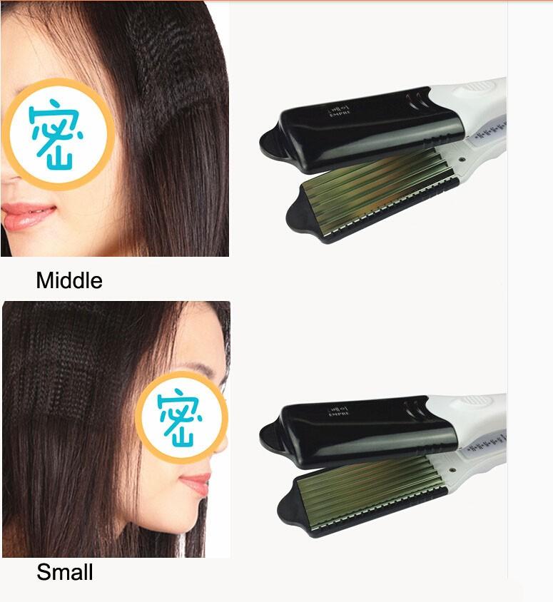 W503 Alisador de Cabelo Profissional de titânio modelador de cabelo em cerâmica curling ferro plana ferros alisamento 4 em 1 ferramentas de estilo