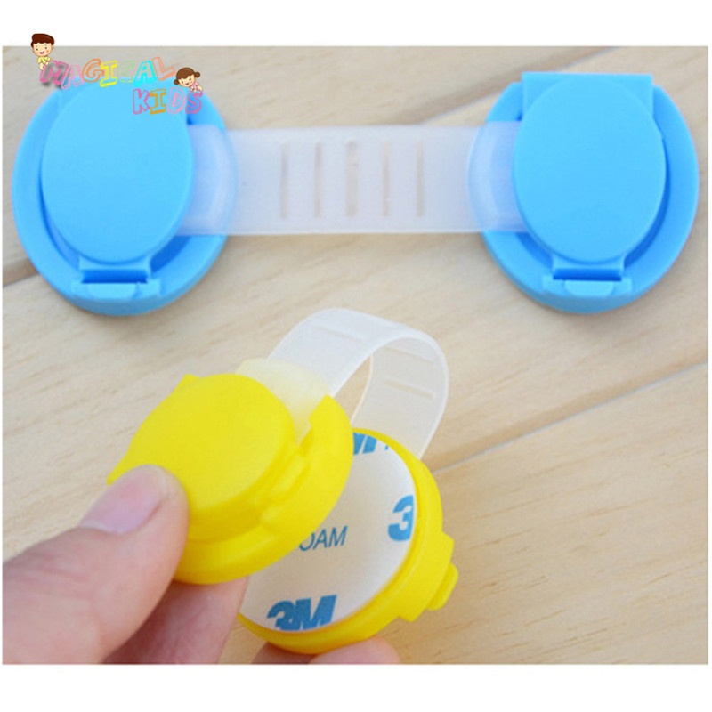 Infant Cabinet Refrigerator Toiletdoor6pcs/lot Hot Sale Finger Protection for Children Safety Plastic Drawer Locks 6pcs/lot(China (Mainland))