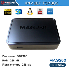 2016 Newest Mag 250 Linux Iptv tv Box Linux Operating System Iptv Set Top Box not include Iptv Account Mag 250 tv Box