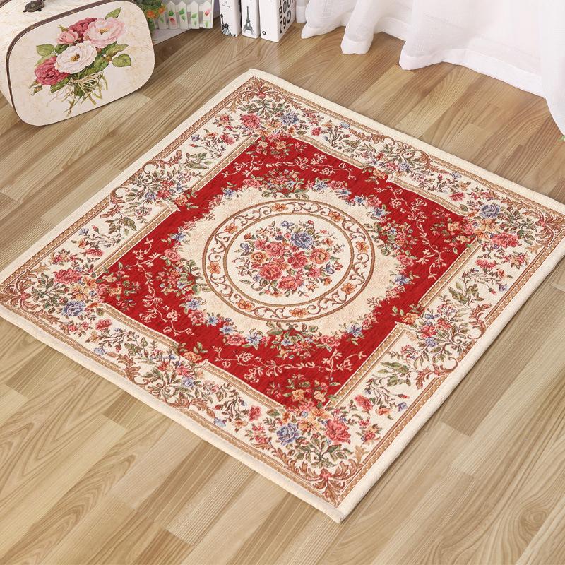 Woven carpet factory wholesale supply European high-grade jacquard carpet rug can be customized block-size option(China (Mainland))