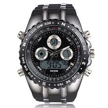 Top Brand Luxury Sport Watch For Men Big Dial Wrist Watches Digital Analog Readeel Shock Watch Military Wristwatch Reloj Hombre