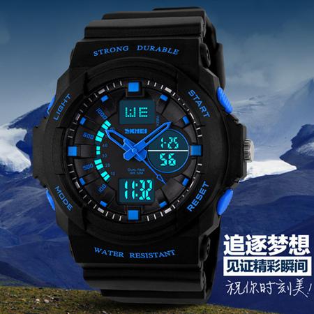 New Watch Skmei Watches Men Luxury Brand Digital Watch Multi-function Silicone Men Sports Watches Relogio Masculino(China (Mainland))