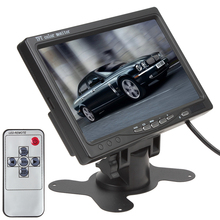 7 Inch Color TFT LCD12V Car Monitor Rear View Headrest monitor With2 Channels Video Input For DVD VCD Reversing Rear view Camera(China (Mainland))