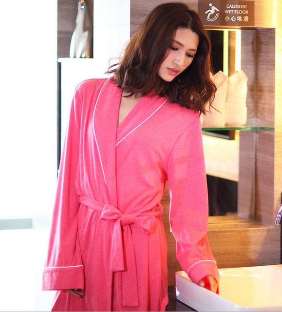 2016 новое поступление эксклюзивный женщины одеяния Высокое качество хлопок пижама ...