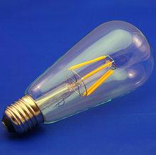Retro E27 Energy Saving Lamp Spiral 4W 6W Single Bright Light Edison LED Filament Bulbs ST64 - %5588% store
