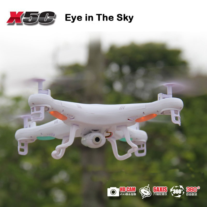 100% Original RC Drone SYMA X5C 2.4G 6-Axis Remote Control Helicopter