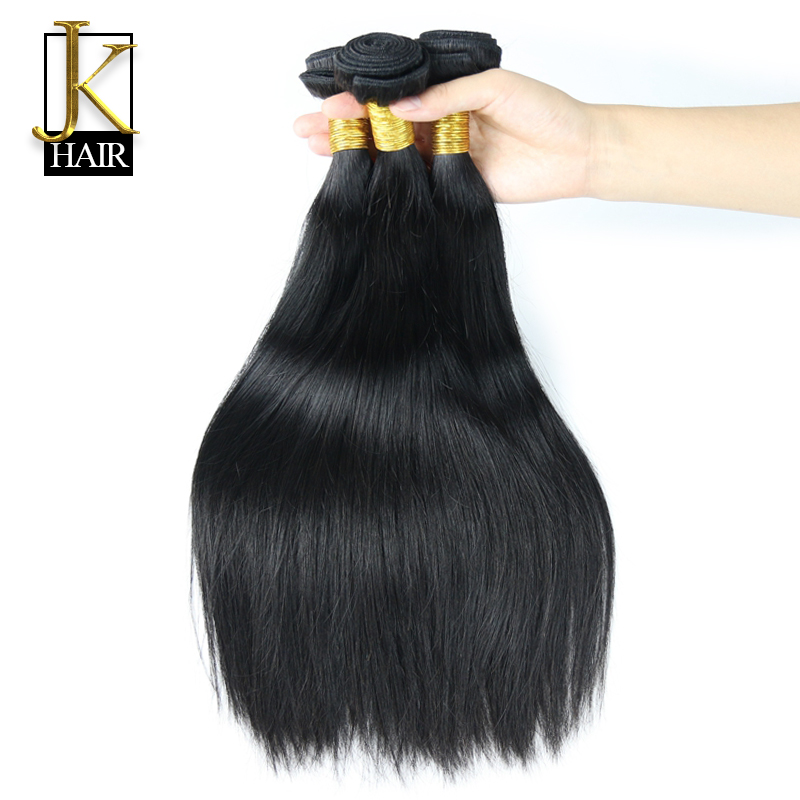 JK 6A Virgin Hair Weave Filipino Virgin Hair Straight Unprocessed Hair Bundles 3pcs lot Virgin Filipino Human Hair Extension