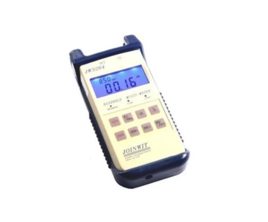 JW3204 1310 /1550nm Fiber optic laser light source OPM+OLS fiber testing equipment Fiber Tester communication instrument By DHL(China (Mainland))