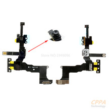 New Original For Apple iphone 5S Front Face Camera With Sensor Flex Cable Ribbon Assembly Repair Parts  Free shipping