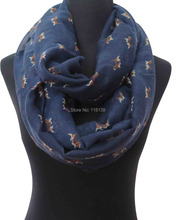 Beagle Puppy Print Women's Infinity Loop Scarf Gift for Dog Lovers(China (Mainland))