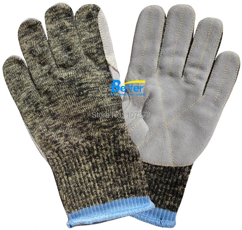 Work Gloves Aramid Fiber Gloves Steel Gloves Anti Cut Working Gloves HPPE Cut Resistant Work Gloves