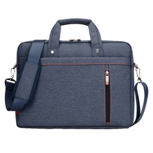Buy 17 Inch big size Nylon Computer Laptop Solid Notebook Tablet Bag Bags Case Messenger Shoulder unisex men women Durable Blue for $20.19 in AliExpress store