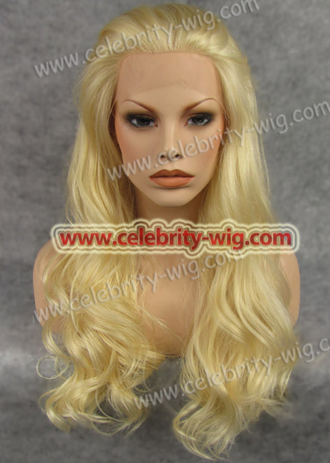 N7-613 Light color 613# synthetic lace front wig in stock high quality<br><br>Aliexpress