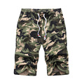 2017 Summer New Casual Drawstring Camouflage Bermudas Masculina