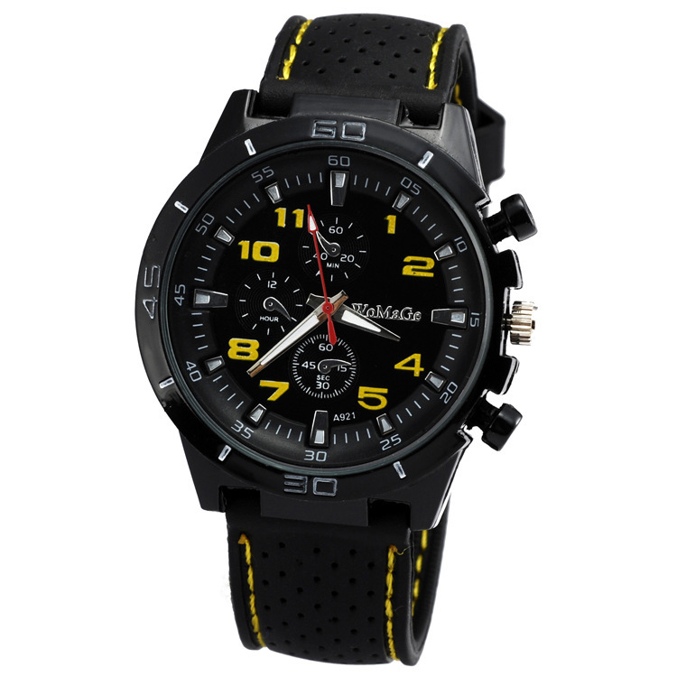Super Cheap To Play On Watch At A Loss For Mileage Contracted Soft Glue Sports Outdoor Men's And Women's Watch Agkn129(China (Mainland))