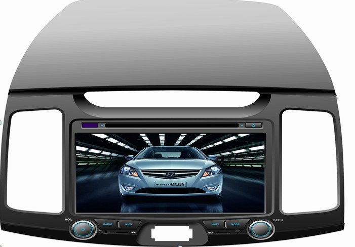 Yuet new 2011 car computer conversion panel 8-inch board with the chassis has on sale(China (Mainland))