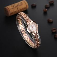 Yoner Brand Luxury Watch Women Fashion Casual Quartz Watches Lady Relojes Mujer Fashion Rosegold wristwatches Girl Dress Clock
