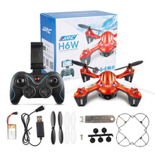 JJRC H6W 2.4Ghz 6 Axis Gyro Remote Control Quadcopter Wifi Record Drone(China (Mainland))
