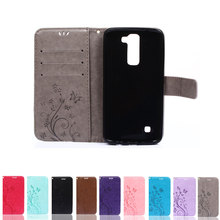 Buy 10 color LG K 7 Phone Cases filp PU Leather Wallet Stand Shell Cover LG K7 soft tpu Case card holder for $3.59 in AliExpress store