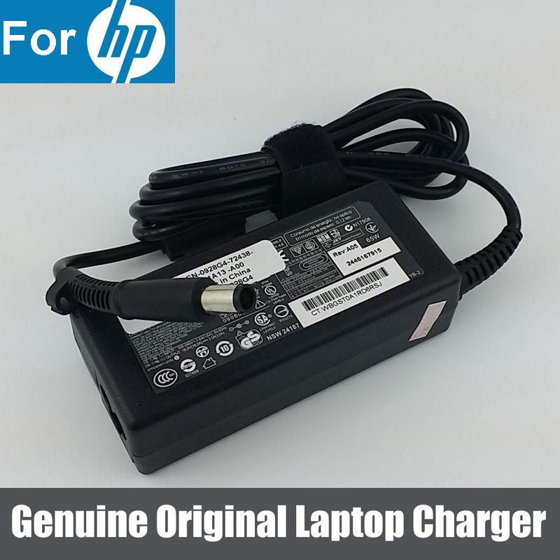18.5V 3.5A Original AC Adapter Charger Power Supply for HP Pavilion dv4 dv5 dv6 dv7 g60 Laptop(China (Mainland))