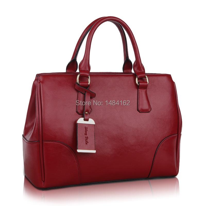 Fashionable European Elegant Lady Style Genuine Leather Women Tote Handbag Crossbody and Shoulder Bag 9023<br><br>Aliexpress