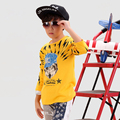 Wolf Children T Shirts Novelty New Fashion Boy Tops And Tees Kids Wear Cotton Long Sleeve