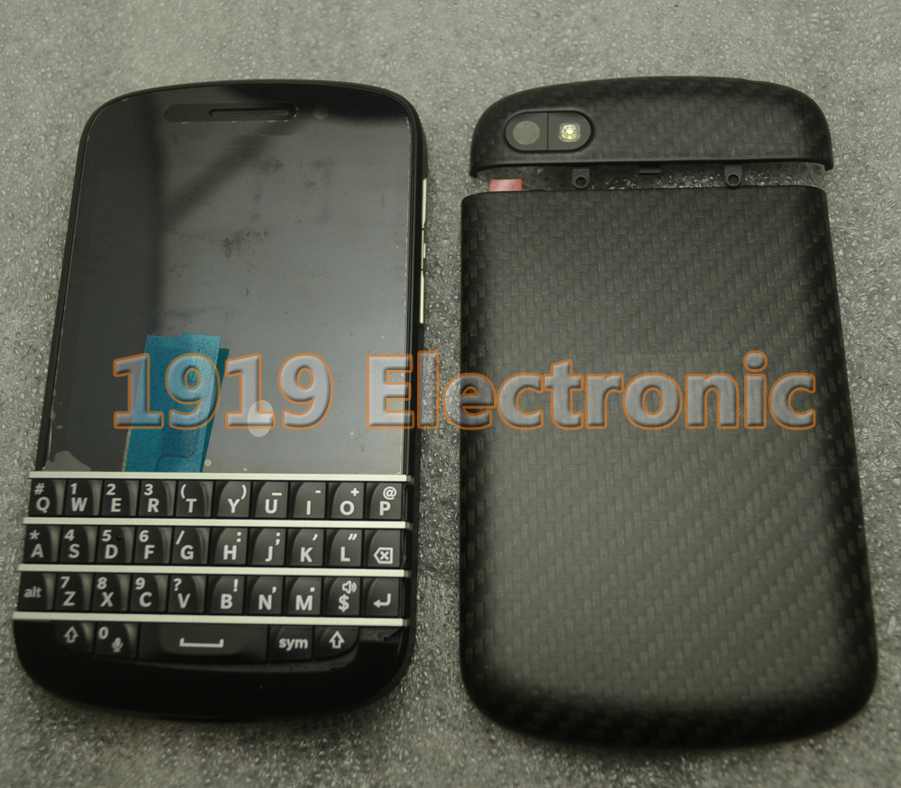 Black Full NEW Complete Mobile Phone Housing Cover Case+LCD Screen & Digitizer For BB BlackBerry Q10(China (Mainland))