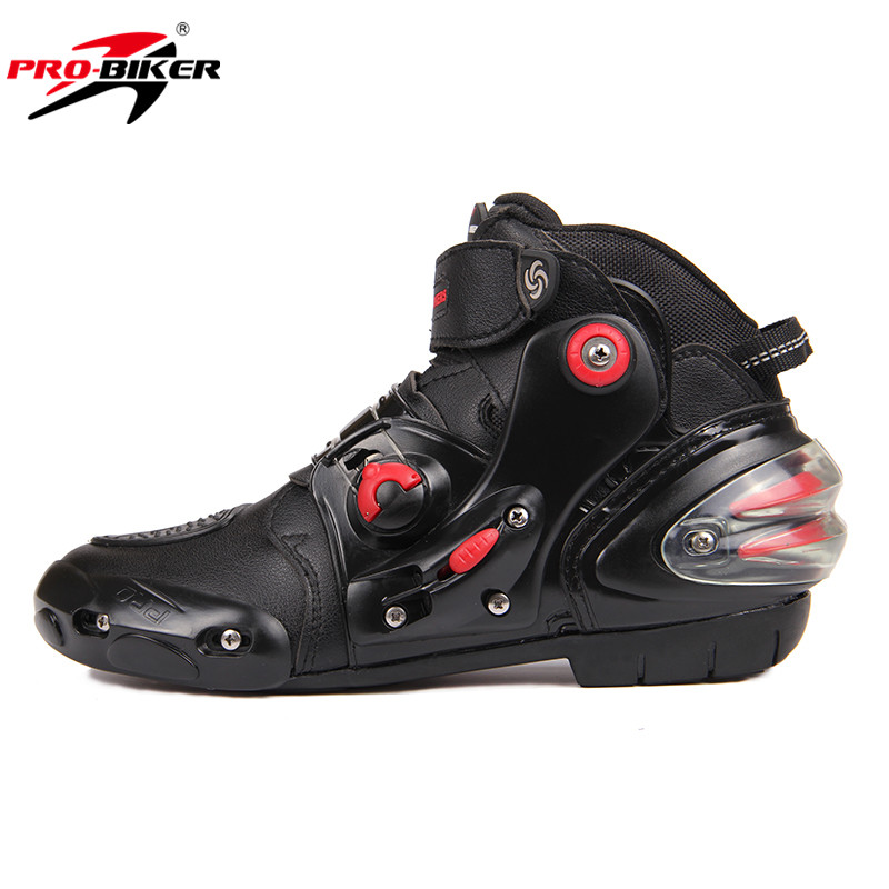 HOT PRO-BIKER SPEED Black Tiger BIKERS Men's Moto Racing Motorcycle Moto Off-Road Boots Breathable Motorbike Boot Shoes(China (Mainland))