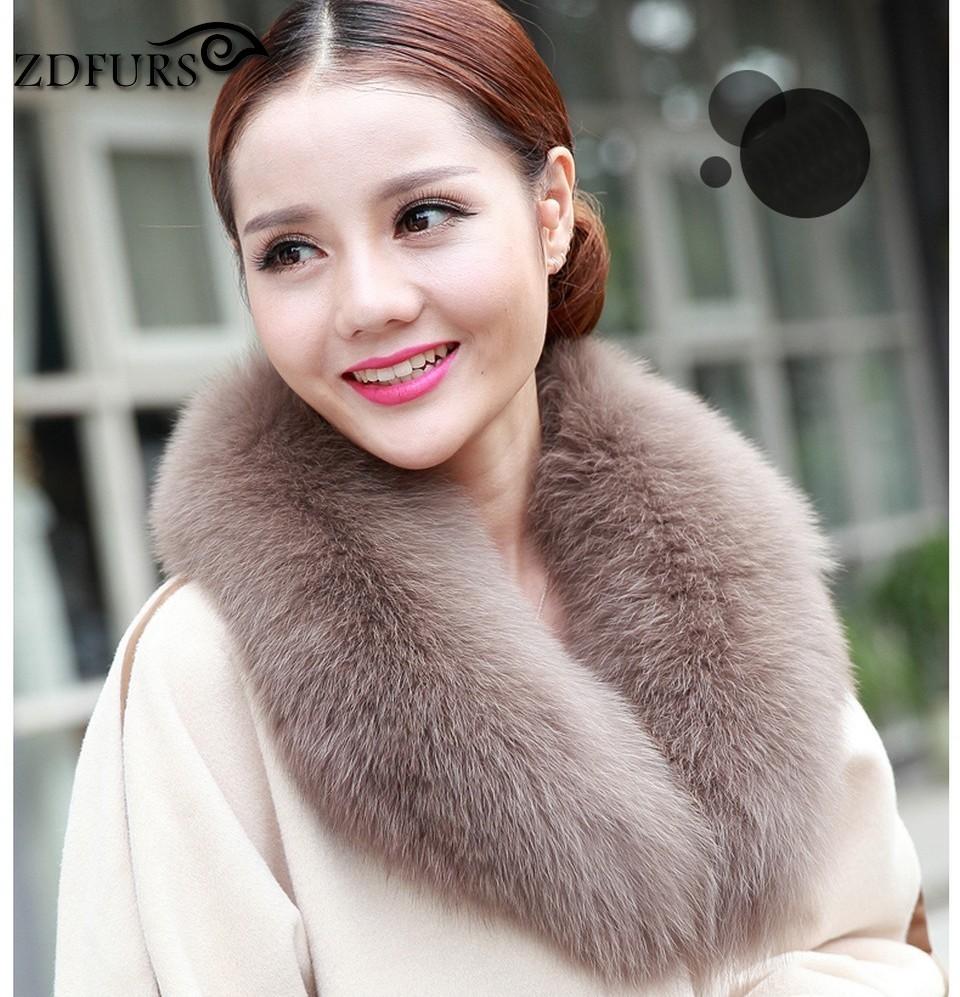 IOW scarves fur fox 15