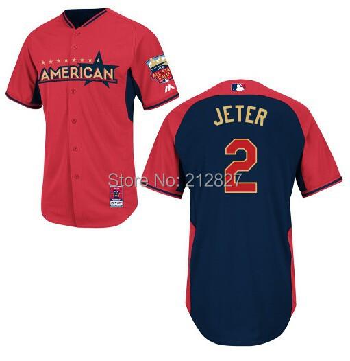 FREE SHIPPING wholesale Yankees 2014 All Star Jerseys(China (Mainland))