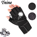Tnine 2017 tactical gloves for men fingerless army gloves climbing bicycle antiskid fitness sports workout gym