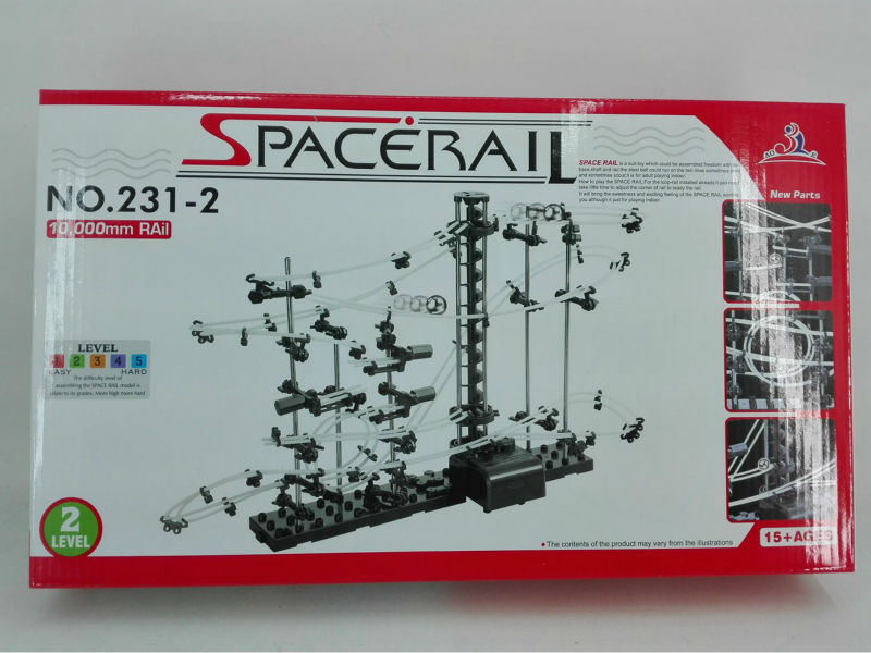 Free Shipping - Space Rail Level 2, #231-2, Roller coaster ,Creative toys Building blocks(China (Mainland))